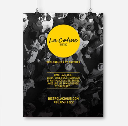 Beez Créativité Média, La Cohue, Affiche