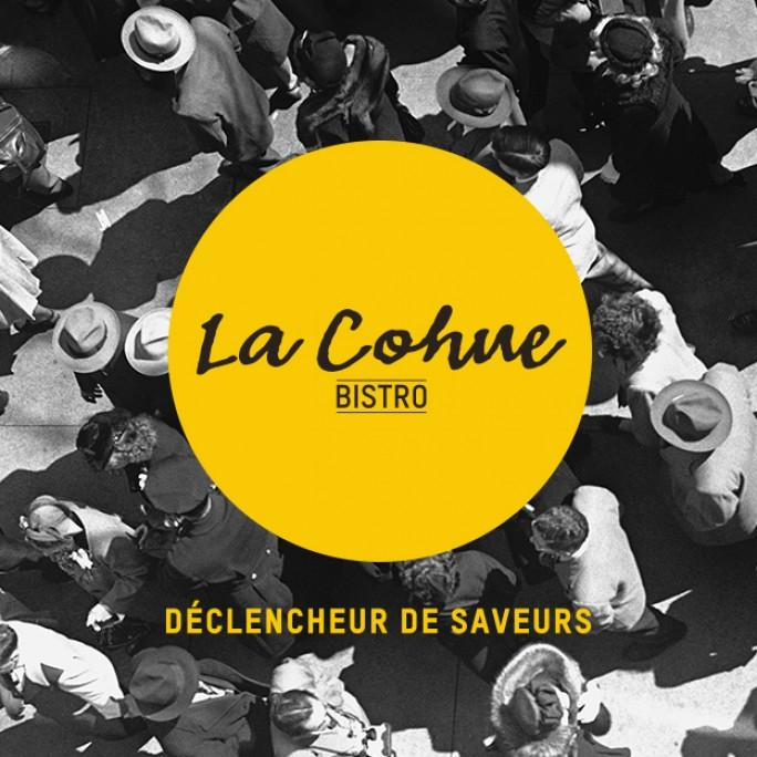 Beez Créativité Média, La Cohue, Logo