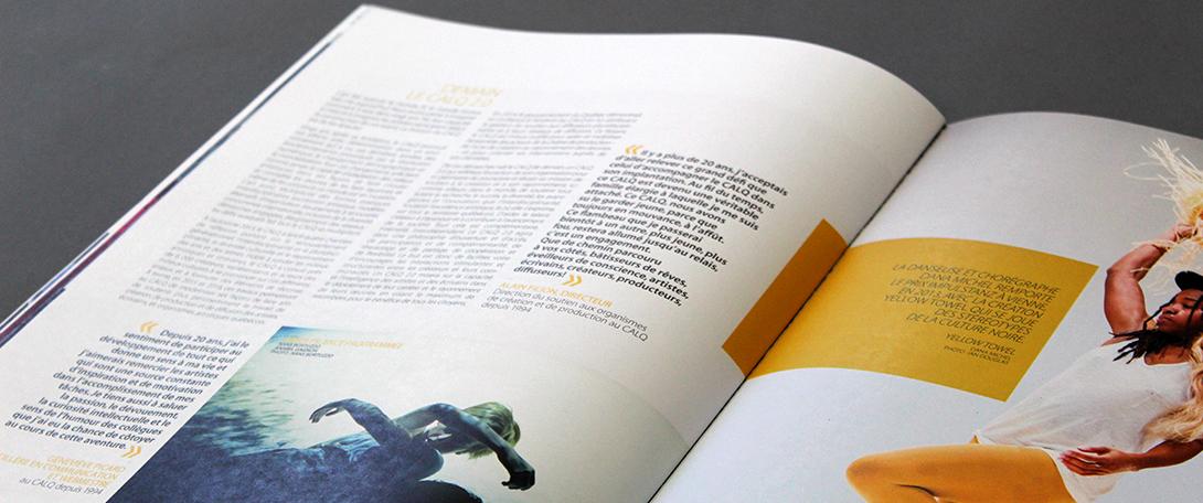 Beez Créativité Média, Conseil des arts et des lettres du Québec, brochure
